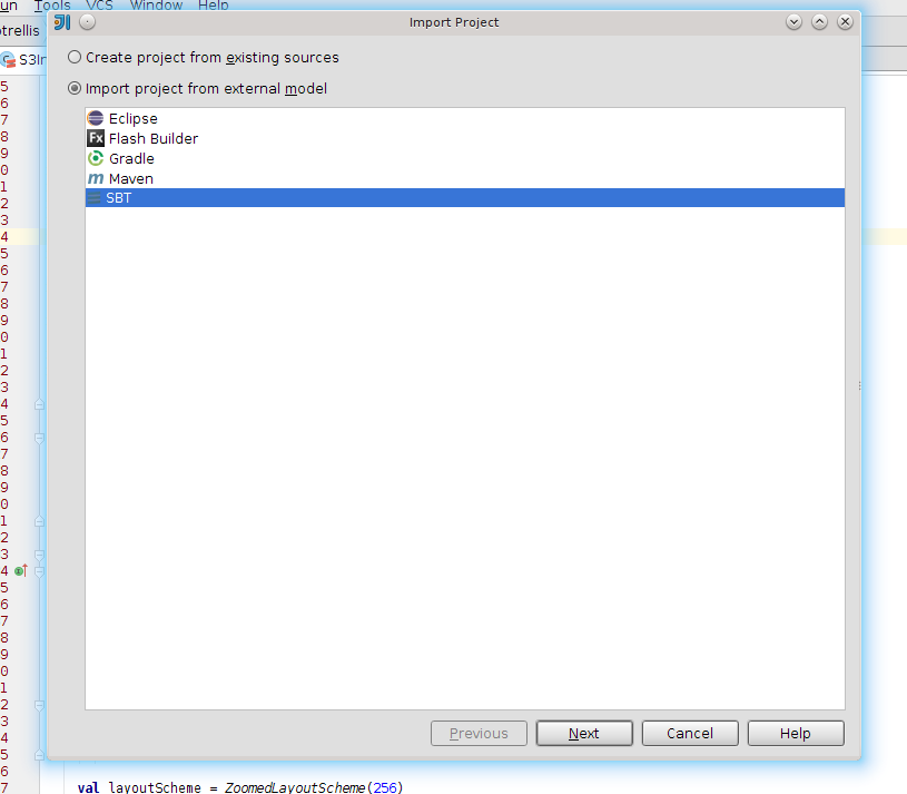 Setting up your IDE for development with GeoTrellis (or any